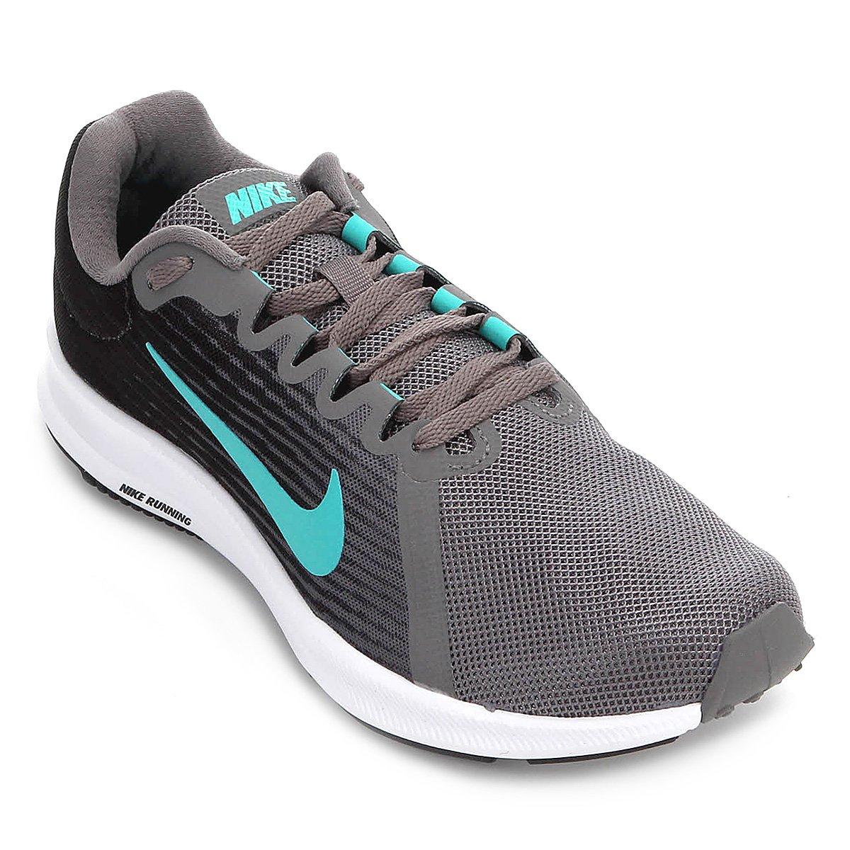 Tênis Nike Wmns Downshifter 8 Feminino - Preto e Cinza - Compre Agora  f38f77d1e3
