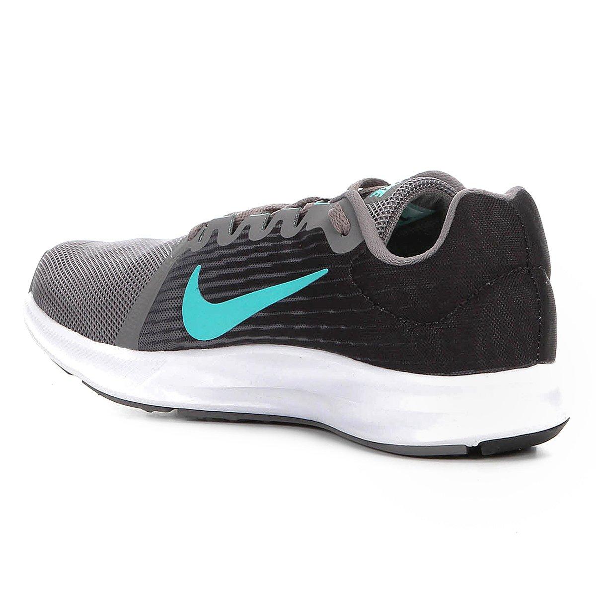 Tênis Nike Wmns Downshifter 8 Feminino - Preto e Cinza - Compre ... 6fe02820046f2