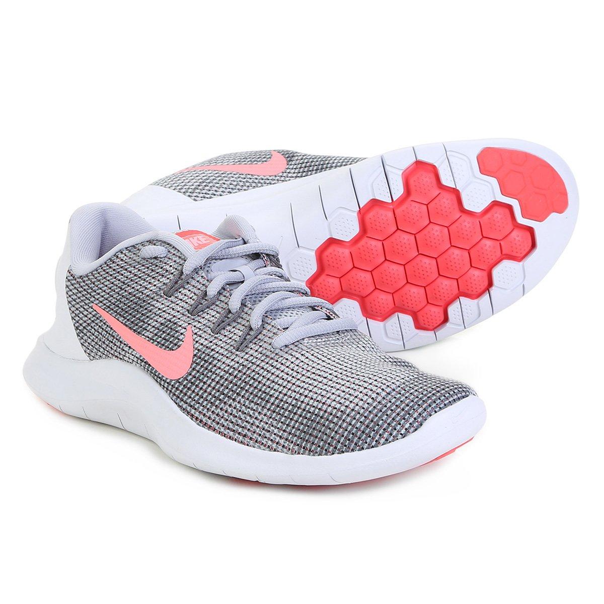 f5587825a1e Tênis Nike Wmns Flex 2018 Rn Feminino - Cinza - Compre Agora