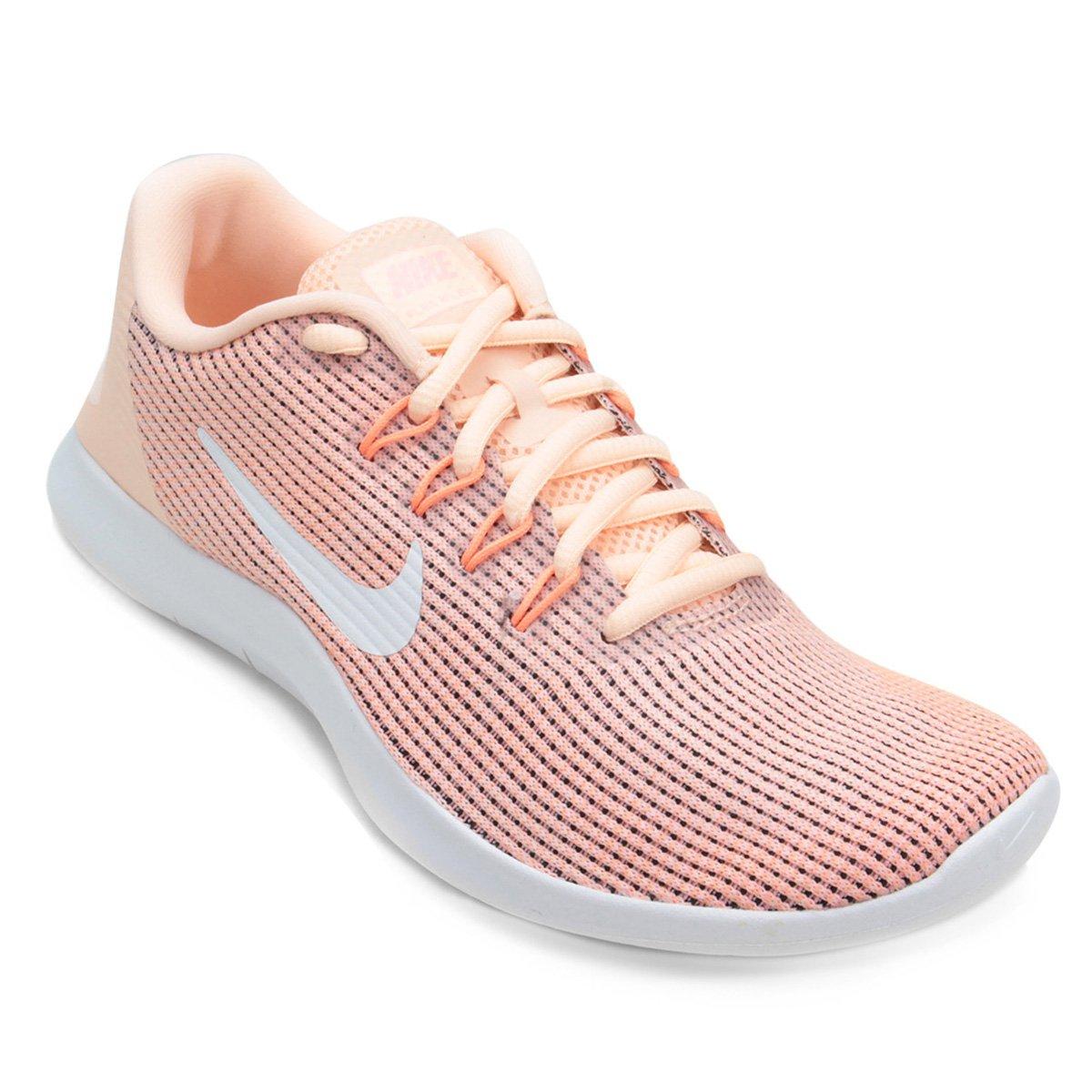 bd89e98d7aa Tênis Nike Wmns Flex 2018 Rn Feminino - Vermelho e Branco - Compre Agora