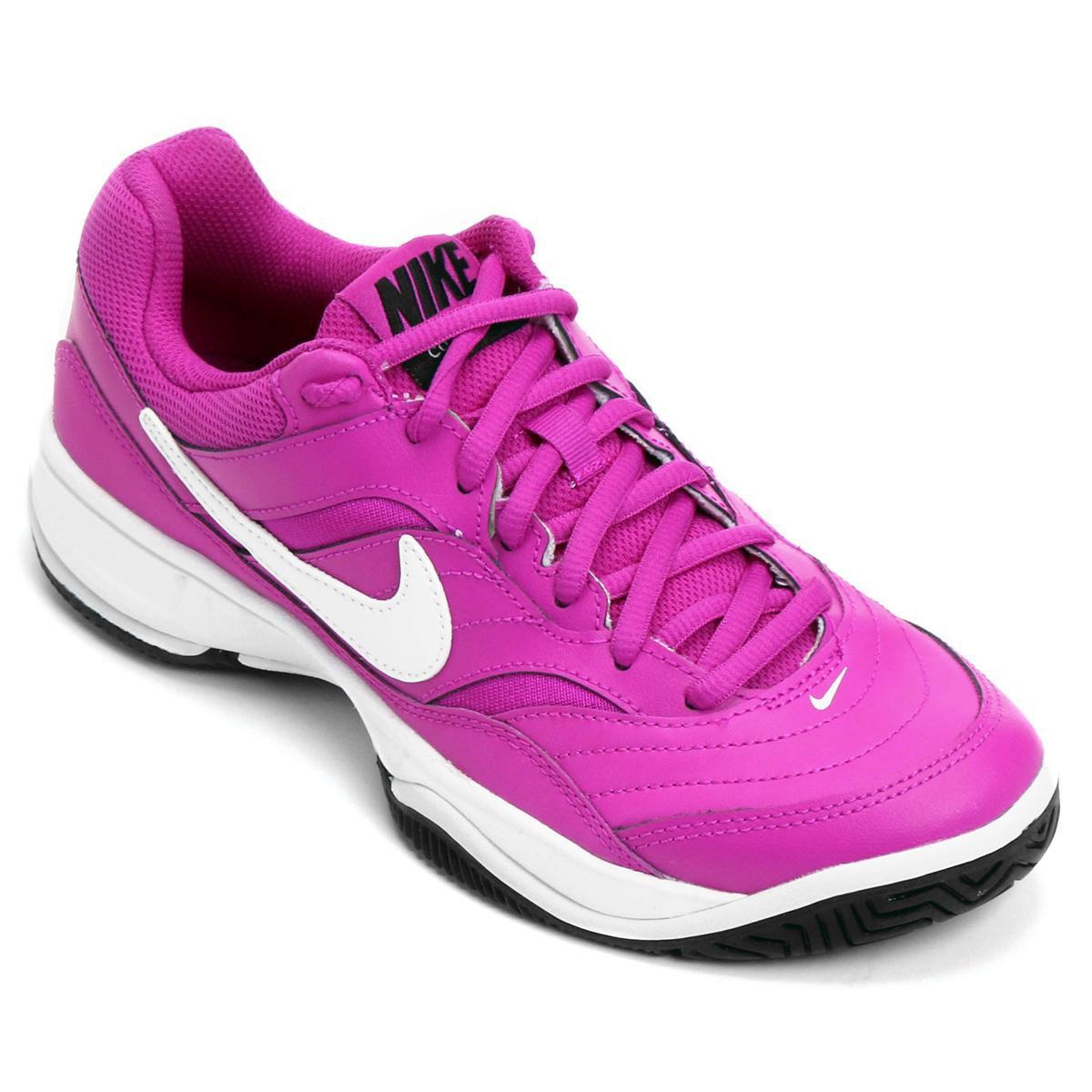 Tênis Nike Wmns Nike Court Lite Feminino Compre Shop Agora Shop Compre  Timão 50c868 dea62a835db1e