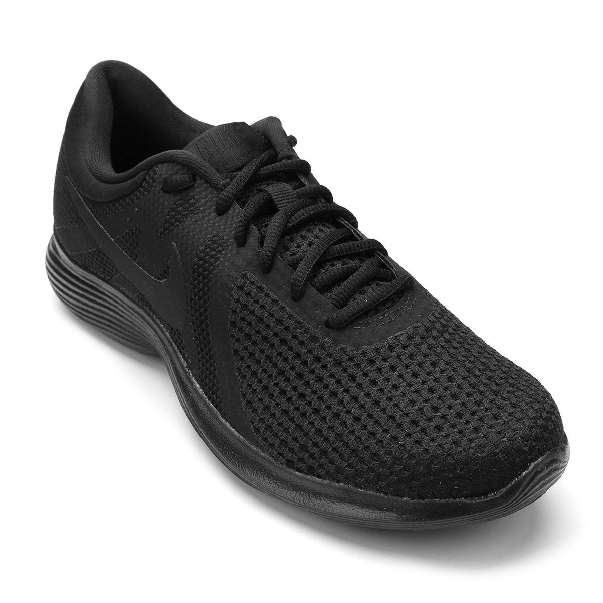 dd0814c189522 Tênis Nike Wmns Revolution 4 Feminino - Preto