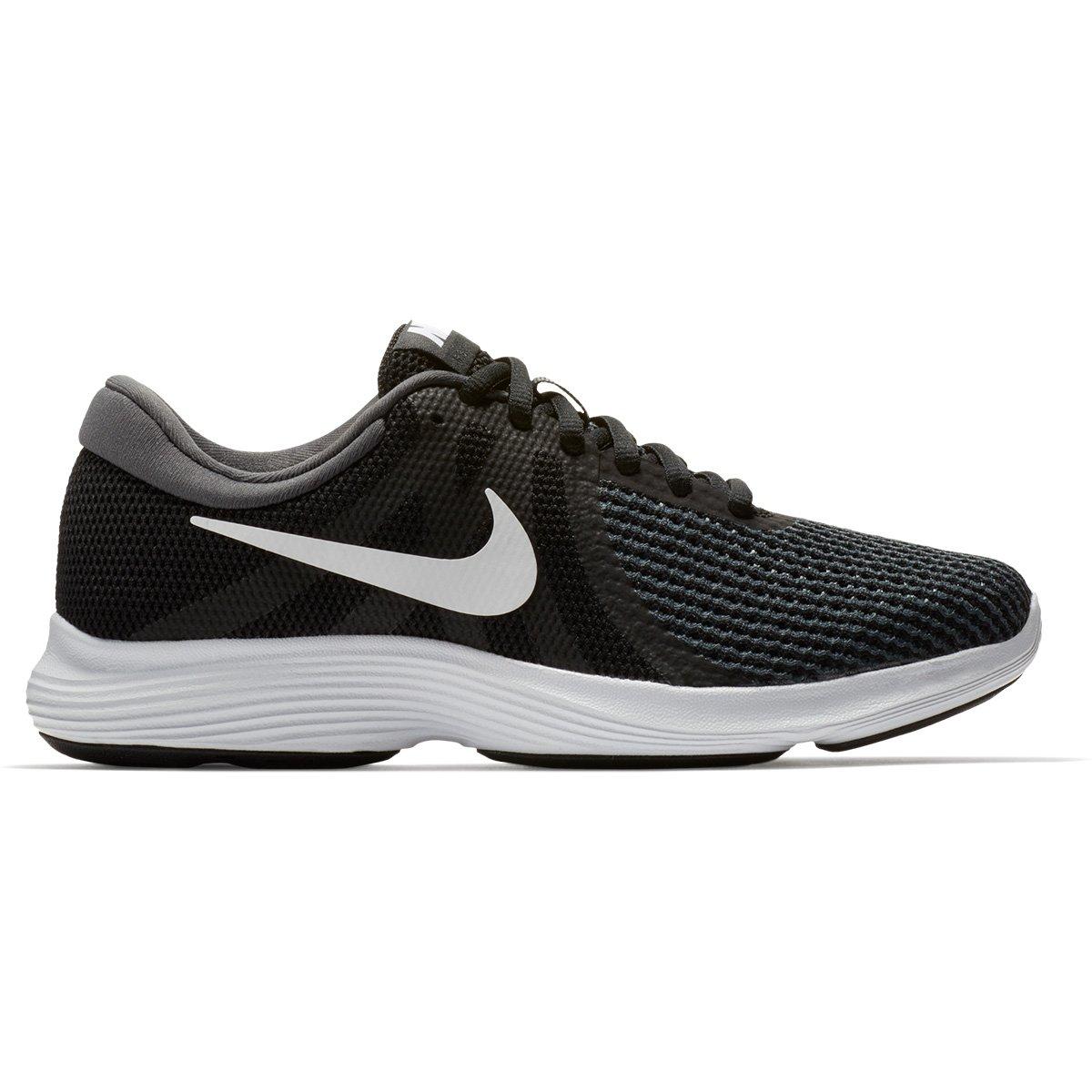 57fa2c6256 Tênis Nike Wmns Revolution 4 Feminino - Preto e Branco - Compre Agora