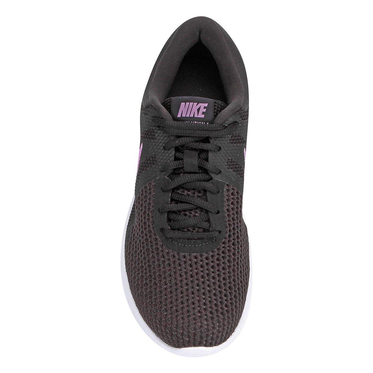 Tênis Nike Wmns Revolution 4 Feminino - Preto e Rosa - Compre Agora ... c493f91d7f158