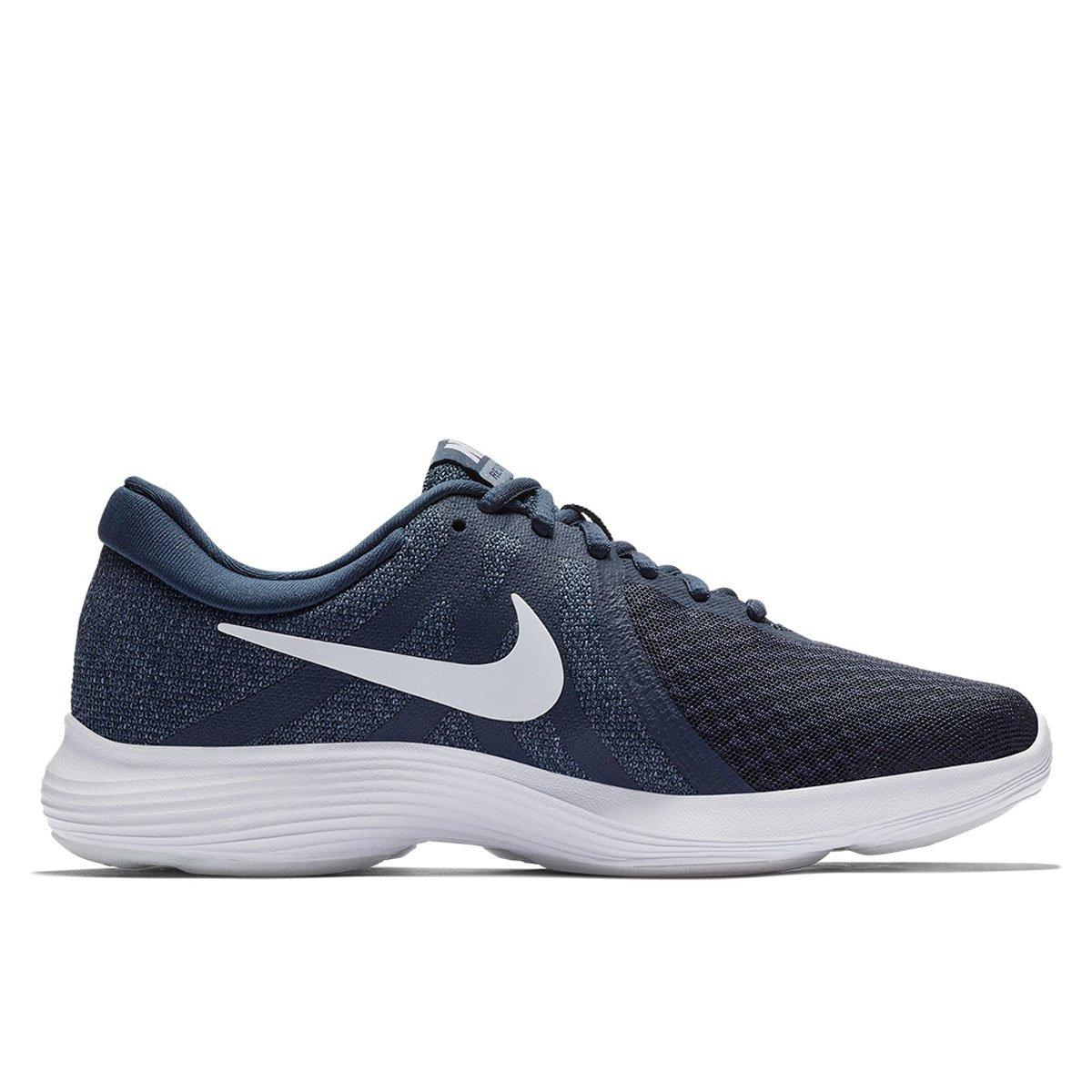 c5ce0348c7 Tênis Nike Wmns Revolution 4 Feminino - Azul e Cinza - Compre Agora ...