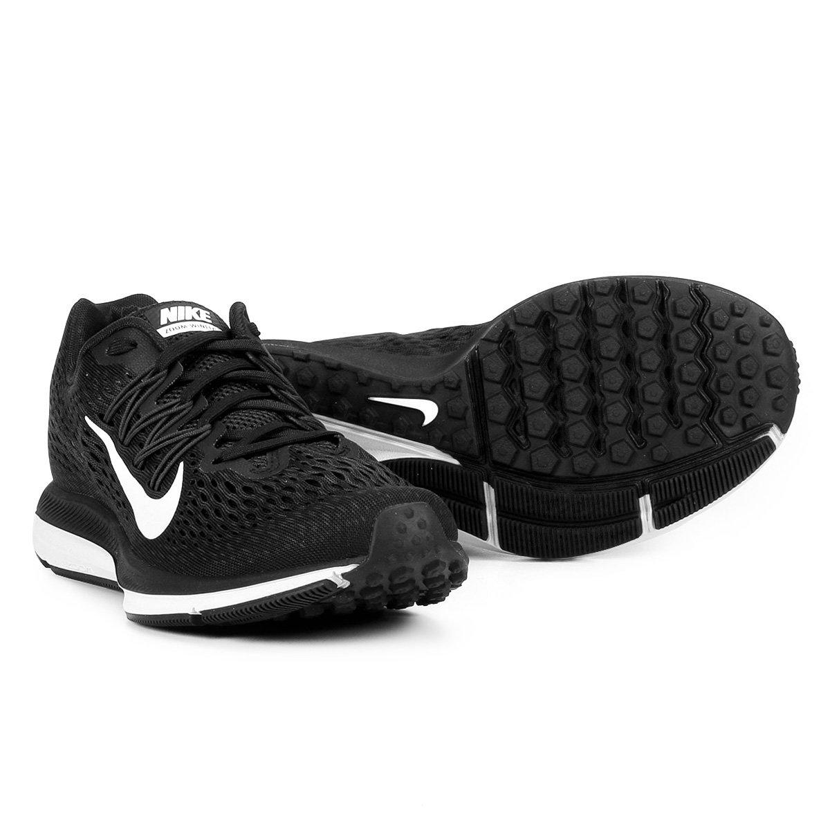 the best attitude b8b2e e87fb Tênis Nike WMNS Zoom Winflo 5 Feminino - Preto e Branco - Compre Agora    Shop Timão