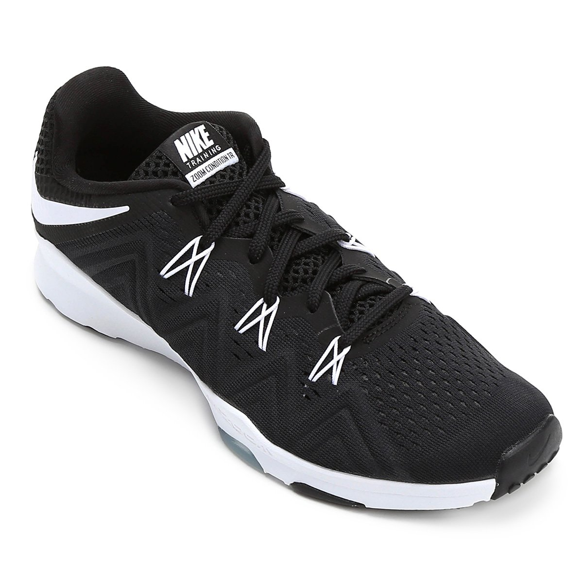 a9f1a49194 Tênis Nike Zoom Condition TR Feminino - Preto e Branco - Compre Agora