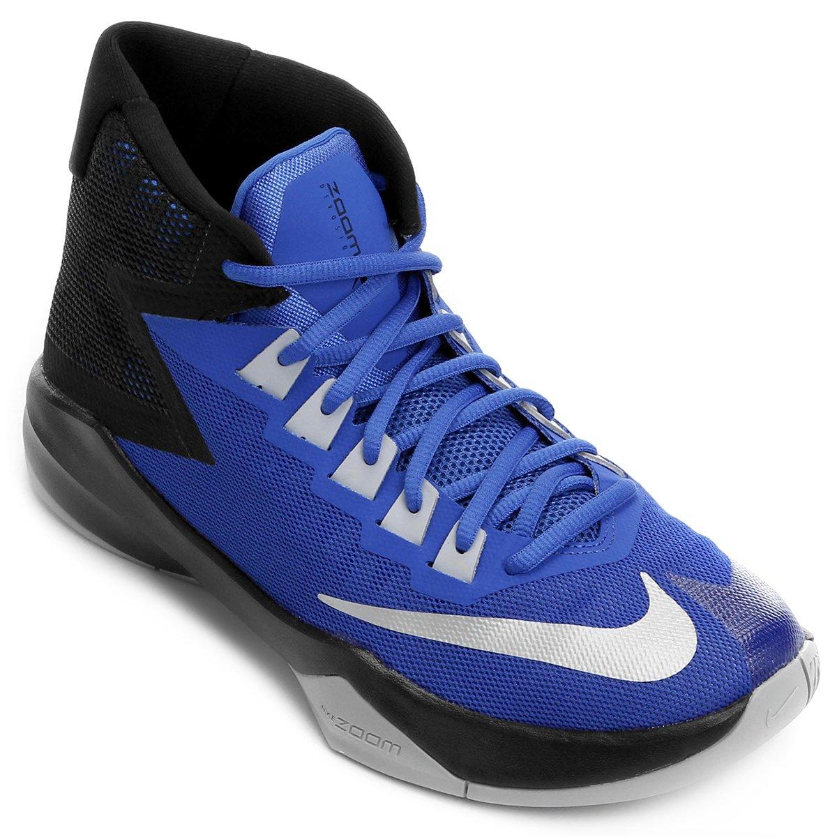 e91888e8a5f Tênis Nike Zoom Devosion - Azul e Preto - Compre Agora