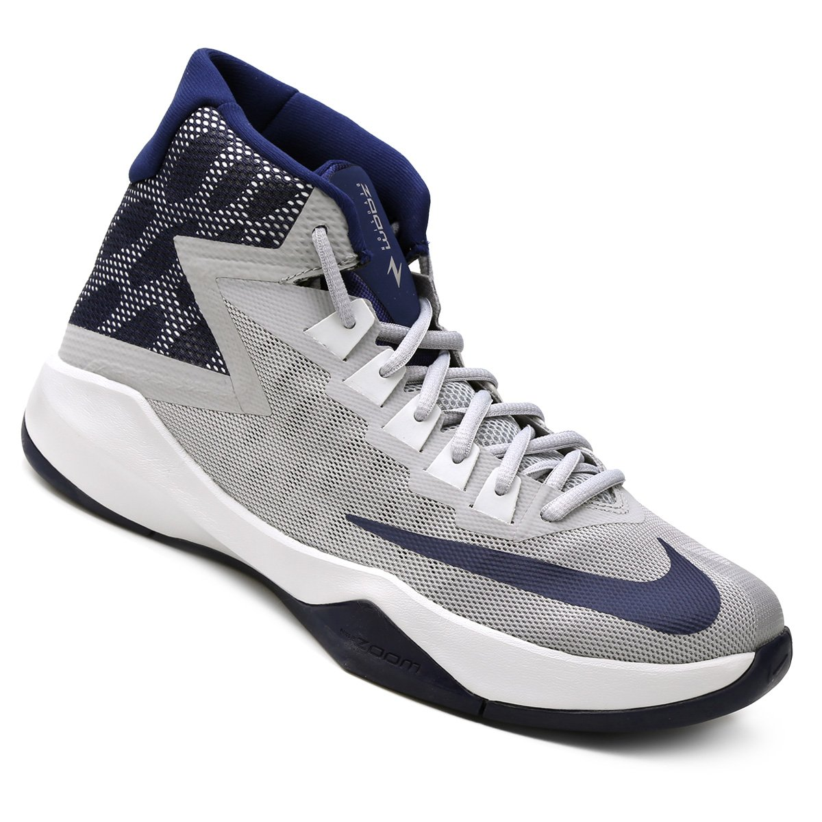 b863867baf3 Tênis Nike Zoom Devosion - Cinza e Marinho - Compre Agora