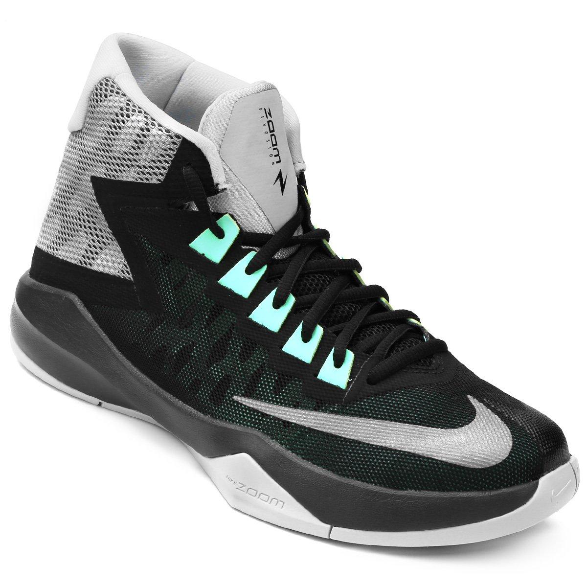 17e2e7a3233 Tênis Nike Zoom Devosion - Preto e Cinza - Compre Agora