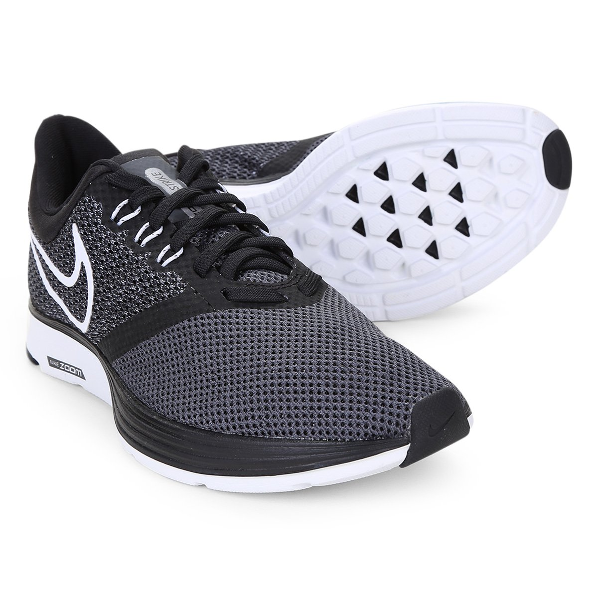 Tênis Nike Zoom Strike Feminino - Preto e Branco - Compre Agora ... a62b7e4b98d60