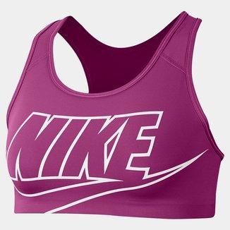 Top Nike Med Futura Bra Média Sustentação