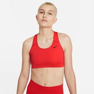 Top Nike Med Non Pad Bra Média Sustentação
